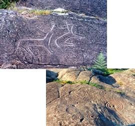 Una de las mayores concentraciones de petroglifos de Europa