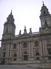 A única catedral con exposición permanente do santo