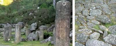 A vía romana da que se conservan máis miliarios