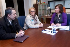 A secretaria xeral da Igualdade reuniuse coa presidenta da Cruz Vermella en Galicia.