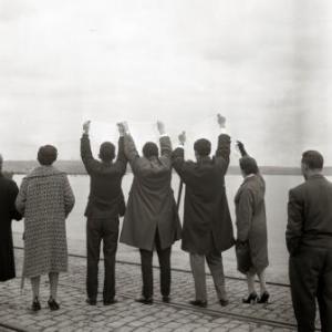 """Imaxe da exposición """"Os adeuses"""", de Alberto Martí. Foto: CGAI."""