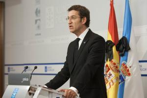 DECLARACIÓN INSTITUCIONAL DO PRESIDENTE DA XUNTA DE GALICIA