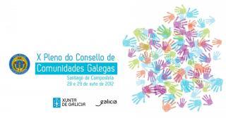 X Pleno del Consello de Comunidades Galegas