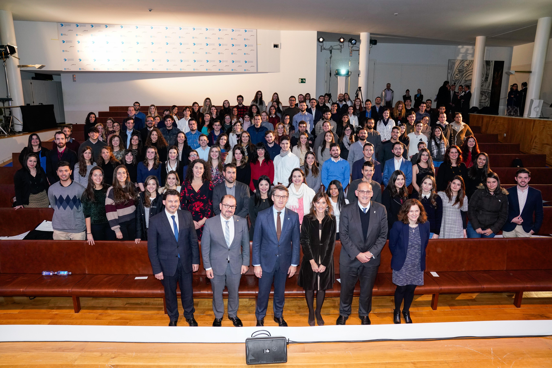Entrega de diplomas á promoción do curso 2018-2019 das Bolsas Excelencia Mocidade Exterior (BEME) e Retorno para Formación Profesional