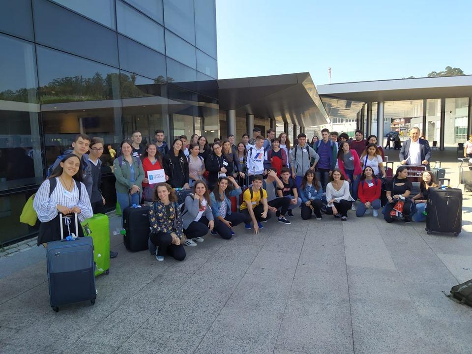 Chegada aos aeroportos galegos das e dos participantes no Conecta con Galicia 2019