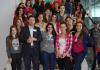 Miranda recibe ás e aos primeiros participantes do programa 'Conecta con Galicia', que fai posible que 190 descendentes de persoas galegas en América Latina, Europa e España convivan con 80 mozas e mozos residentes na comunidade