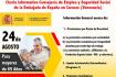 Charla informativa para maiores de 65 anos, da Consellaría de Emprego e Seguridade Social da Embaixada de España en Caracas