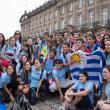 Imaxes das mozas e dos mozos participantes no programa Conecta con Galicia 2014 (actividades de aire libre) da Secretaría Xeral da Emigración da Xunta de Galicia.