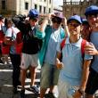 Imágenes de las chicas y chicos participantes en el programa Conecta con Galicia 2014 (actividades de aire libre) de la Secretaría Xeral da Emigración de la Xunta de Galicia