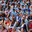 Imaxe da Misa do Peregrino celebrada o 20 de Xullo do 2015 en Santiago de Compostela