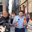 """Rodríguez Miranda acompañó a los participantes de este año en las """"Escolas Abertas"""" en su exhibición por las calles de Ourense"""