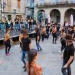 """Rodríguez Miranda acompañou aos participantes deste ano nas """"Escolas Abertas"""" na súa exhibición polas rúas de Ourense"""