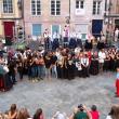"""Rodríguez Miranda acompañó a los participantes de este año en las """"Escuelas Abiertas"""" en su exhibición por las calles de Ourense"""