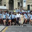 Las y los participantes peregrinaron a Compostela (por el Camino francés o por la Vía de la Plata) y conocieron la capital de Galicia