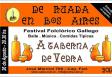 """""""De Ruada en Bos Aires 2017 - A Taberna de Vedra"""", na Sociedad Parroquial de Vedra de Bos Aires"""