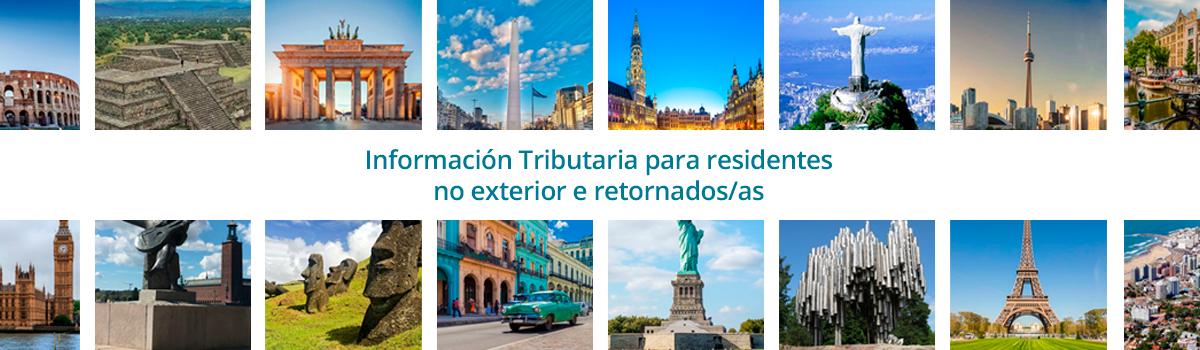 Información Tributaria Residentes  no Exterior e Retornados/as