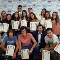 Miranda lembra ás mozas e aos mozos galegos de Venezuela a responsabilidade que formar parte do Camiño de Santiago lles deu como embaixadores da súa terra de orixe de cara ao 2021