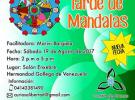 Tarde infantil de mandalas, na Hermandad Gallega de Venezuela