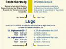 Xornadas informativas hispano-alemano-suízas de Seguridade Social, en Lugo