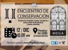 """IIº Encuentro de Conservación. Técnicas de recepción, manejo, transporte y conservación de documentos y bienes culturales"""", en Buenos Aires"""
