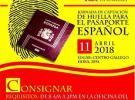 Xornada de captación da pegada dactilar para o pasaporte español, en Maracaibo