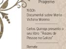 Día das Letras Galegas 2018, en Lisboa