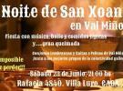 San Xoán 2018 no Val Miñor de Bos Aires