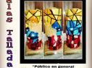 Obradoiro básico de candeas talladas, en Caracas
