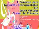 "Iº Concurso para conxuntos instrumentais con gaita galega ""Ciudad de Alicante"""