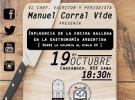 Conferencia de Manuel Corral Vide: 'Influencia de la cocina gallega en la gastronomía argentina', en Bos Aires