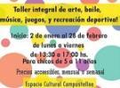Obradoiros de verán 2019 da Fundación Xeito Novo de Cultura Galega, en Bos Aires