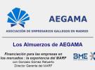 """""""Financiación para las empresas en los mercados: la experiencia del MARF"""", en Los Almuerzos de AEGAMA"""