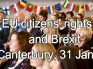 Cidadáns/ás da UE & Brexit: sesión informativa en Canterbury