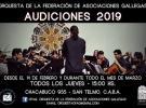 Audicións 2019 para a Orquestra de Cámara da Federación de Asociaciones Gallegas de la República Argentina