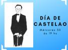 Homenaxe polo 133º aniversario do nacemento de Castelao, no Patronato da Cultura Galega de Montevideo