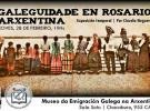 Exposición 'Galeguidade en Rosario, Arxentina', de Claudio Noguerol, no MEGA de Bos Aires