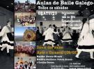 Clases de baile galego 2019, no Centro Espanhol de Santos