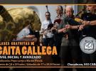 Clases de gaita galega 2019, na Federación de Asociaciones Gallegas de la República Argentina