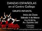 Clases de danza 2019 - Grupo infantil, no Centro Galego de Tandil