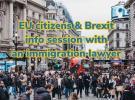 Cidadáns/ás da UE & Brexit: sesión informativa en Londres