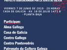 """""""Nin coros nin cantareiras: Galicia"""", en Montevideo"""
