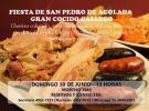 Fiesta de San Pedro de Agolada  2019 & Gran Cocido gallego, en Buenos Aires