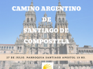 1ª Peregrinación polo Camiño de Santiago na Arxentina, en Bos Aires