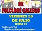 Espectáculo de folclore gallego - Día de Galicia 2019, en el Val Miñor de Montevideo