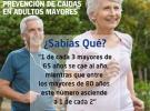 Taller de prevención de caídas en adultos/as mayores, en la Casa de Galicia de Montevideo