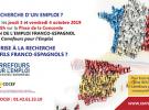 Salón Franco-Español do Emprego, a Formación e o Emprendemento 2019, en París