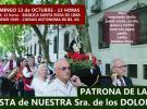 Festa da Nosa Señora das Dores 2019, no Centro Lalín, Agolada e Silleda de Bos Aires
