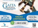 Curso de gaita gallega 2019, en Salvador de Bahía