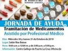 Xornadas informativas sobre os programas asistenciais da Xunta de Galicia, en Puerto La Cruz
