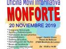 Oficina informativa móbil de FEVEGA, en Monforte de Lemos